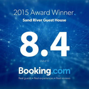 2015 Award Winner, 8.4 Rating by Booking.com